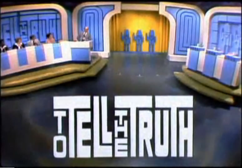 To Tell the Truth Game Show